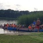 Handballcamp Sommer 2019, Freizeit, Drachenboot fahren